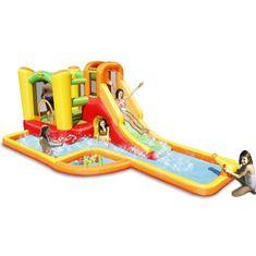 Happy Hop Vodní aqua park Play centrum s míčky a bazénkem