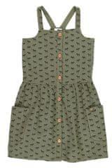 Boboli dívčí šaty s koňmi 462091 104 zelená