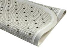 PROTISKLUZU Protiskluzová podložka do vany 96 x 34 cm - Bílá