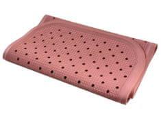 PROTISKLUZU Protiskluzová podložka do vany 76 x 34 cm - růžová