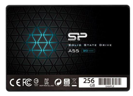 Silicon Power Ace A55 SSD disk, 256 GB, SATA 6 Gb/s