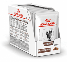 Royal Canin Veterinary Diet Cat Gastrointestinal Pouch 12x85 g