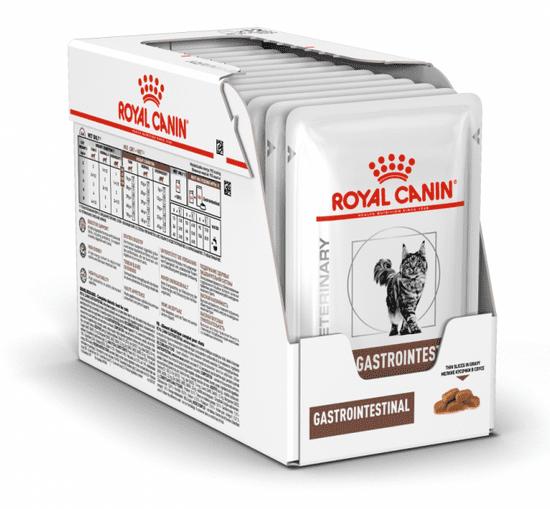 Royal Canin karma dla kotów Veterinary Diet Cat Gastrointestinal Pouch 12x85 g