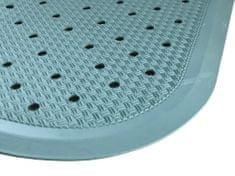 PROTISKLUZU Protiskluzová podložka do sprchy 56 x 56 cm - světle modrá