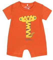 Boboli fantovski pajac s tigrom 112093, 50, oranžen