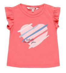 Boboli dívčí tričko se srdíčkem 212050 68 růžová