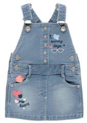 Boboli dievčenské šaty na traky 212038 86 modrá