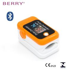 Babys BERRY BM1000C S Pulsoksymetr z bluetooth, kolor pomarańczowy