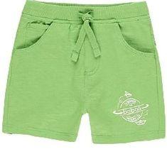 Boboli chlapecké teplákové kraťasy 390057 68 zelená