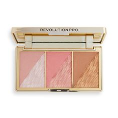Revolution PRO Arcpaletta Crystal Luxe (Face Palette) 8,4 g (Árnyék Peach Royale)