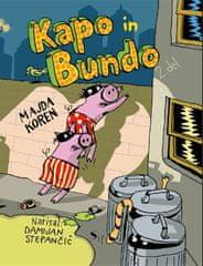 Majda Koren: Kapo in Bundo, trda vezava