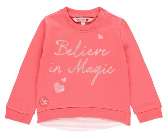 Boboli 212005 dekliški pulover z bleščicami