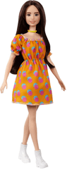 Mattel Barbie Model 160 - Narančasta haljina s točkicama