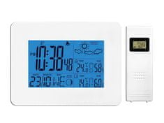 LTC Vremenska postaja z radijsko vodeno DCF uro in brezžičnim senzorjem na baterije