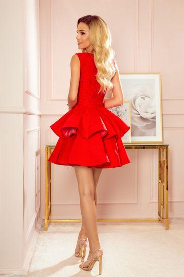 Numoco Női ruha 321-1, piros, XL