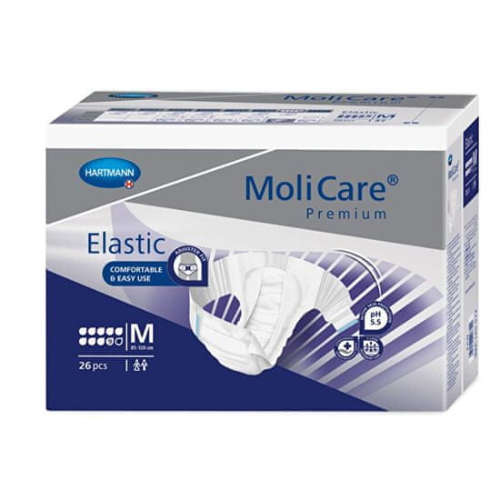 MoliCare MoliCare® Premium Elastic 9 kapek vel. M savost 3521 ml 26 ks