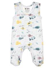 Nini otroške hlače iz organskega bombaža ABN-2504, 56, sive
