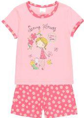 Boboli dívčí pyžamo 922014 92 růžová