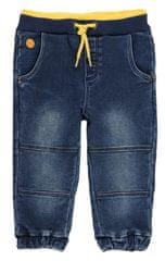 Boboli chlapecké džíny 302016 68 tmavě modrá