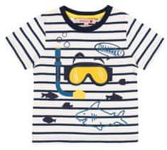 Boboli fantovska majica s kratkimi rokavi 302049, 68, bela