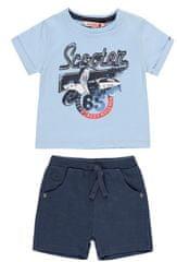 Boboli fantovski set majice in hlač 312107, 92, moder