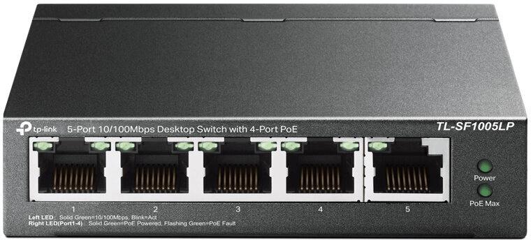 TP-Link TL-SF1005LP PoE (TL-SF1005LP)
