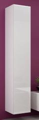 Cama meble Vigo 180 skrinka na stenu biela / biely lesk
