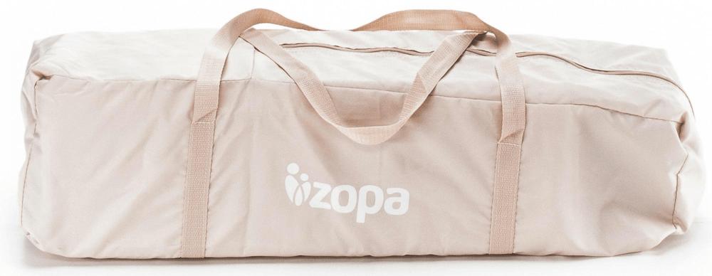 ZOPA Cestovní postýlka Camping 2, Animal Beige
