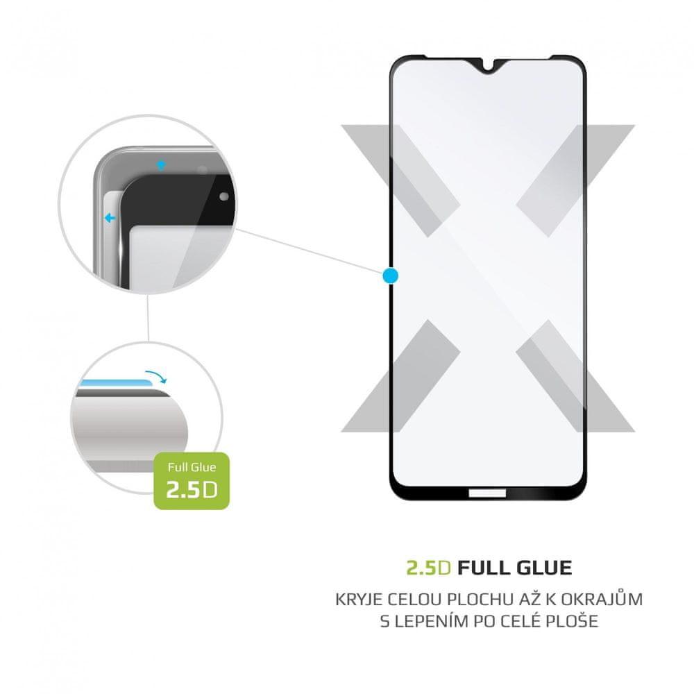 FIXED Ochranné tvrzené sklo Full-Cover pro OnePlus Nord N10 5G, lepení přes celý displej FIXGFA-639-BK, černé