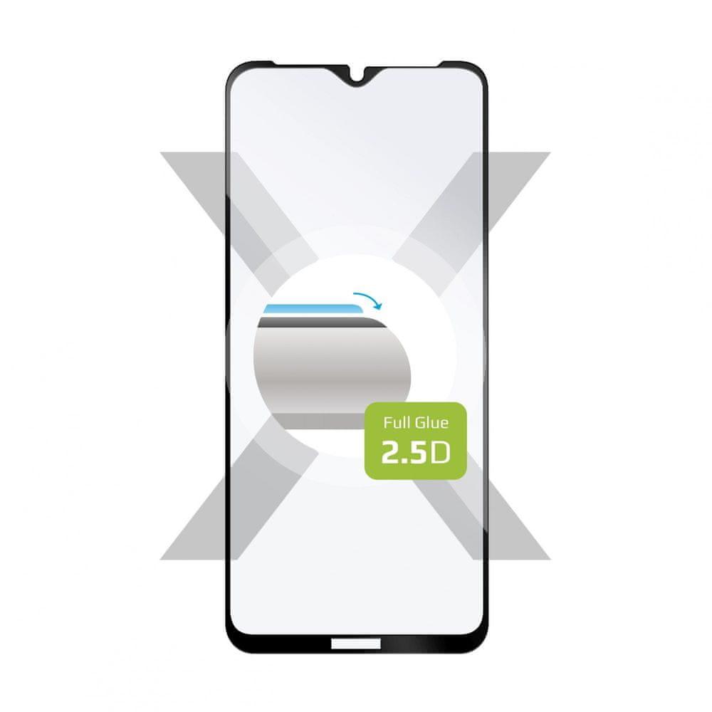 FIXED Ochranné tvrzené sklo Full-Cover pro OnePlus Nord N100, lepení přes celý displej FIXGFA-640-BK, černé