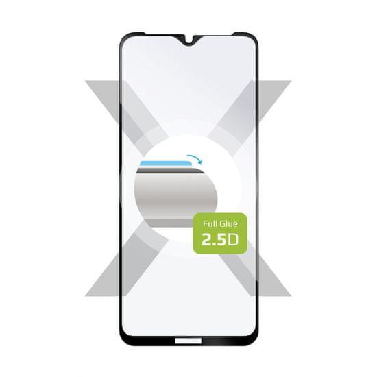 FIXED Ochranné tvrzené sklo Full-Cover pro Samsung Galaxy A12, lepení přes celý displej FIXGFA-653-BK, černé