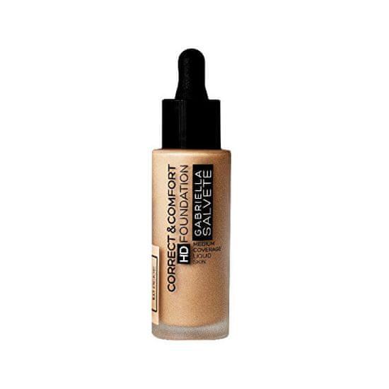 Gabriella Salvete Tekutý make-up Correct & Comfort HD Foundation 29 ml