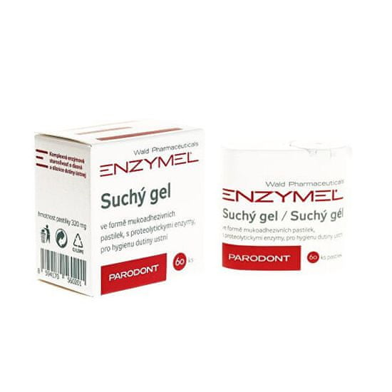 Enzymel Parodont suchý gél pastilky 60 ks
