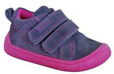 Protetika dievčenské barefoot tenisky Helga 72021HELGA, 26, sivá