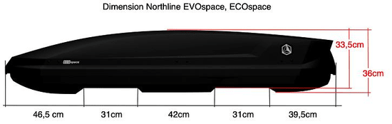 NORTHLINE EcoSpace Anthracite