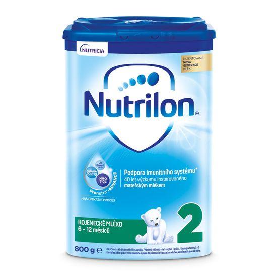Nutrilon 2 pokračovacie dojčenské mlieko 6x 800g, 6+