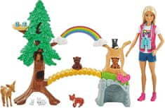 Mattel Barbie Raziskovalka divjine