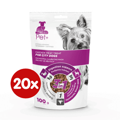 thePet+ przysmak dla psów City Treat 20×100 g