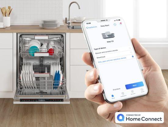 Bosch vestavná myčka SPI6EMS23E + doživotní záruka AquaStop