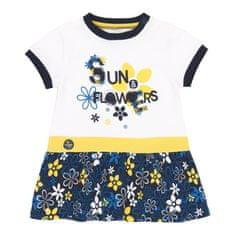 Boboli dievčenské šaty s kvetmi 202037 98 biela