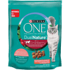 Purina ONE Dual Nature s sterilizirana hrana za mačke brusnica z lososom 8x750 g