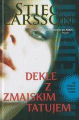 Stieg Larsson: Dekle z zmajskim tatujem, trda vezava