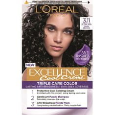 L'ORÉAL PARIS Permanentní barva na vlasy Excellence Cool Creme (Odstín 5.11 Ultra popelavá světlá)
