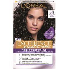Loreal Paris Permanentná farba na vlasy Excellence Cool Creme (Odtieň 3.11 )