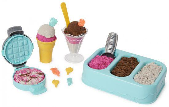 Kinetic Sand Voňavé kopečkové zmrzliny