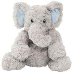 Teddies Slon sedící nahřívací plyš 23cm