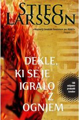 Stieg Larsson: Dekle, ki se je igralo z ognjem, trda vezava