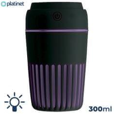 Platinet PMAH ovlaživač zraka + LED svjetlo, crni