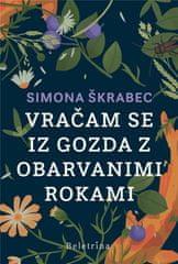 Simona Škrabec: Vračam se iz gozda z obarvanimi rokami, trda vezava