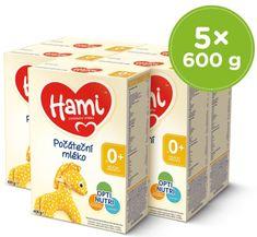 Hami 0+ počáteční kojenecké mléko 5x 600 g